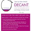 DECANT 29 MAY @ MCLAREN VALE INFORMATION CENTRE image